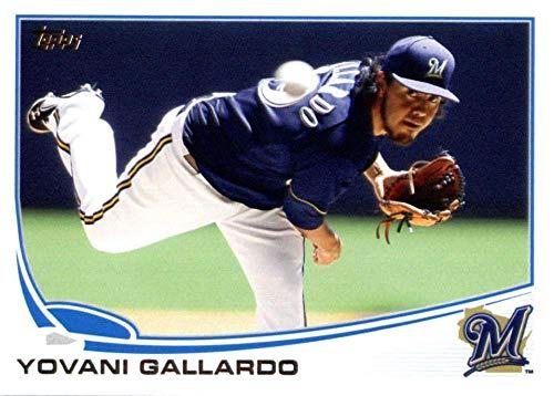 2013 Topps #149 Yovani Gallardo NM-MT Brewers