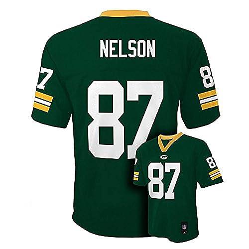 Jordy Nelson Green Bay Packers Green NFL Kids 2013-14 Season Mid-tier Jersey cf1d6eb88