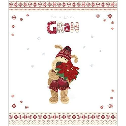 7722eabc412 Lovely Gran Boofle Christmas Greeting Card - new gift grandma xmas from