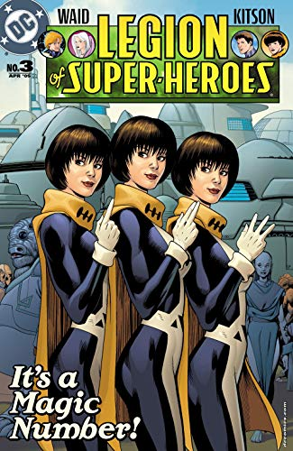 Amazon.com: Legion of Super Heroes (2005-2009) #3 (Legion of Super-Heroes (2005-2009)) eBook: Waid, Mark, Kitson, Barry, Klein, Todd, McCaig, Dave, Kitson, Barry, Kitson, Barry, Thibert, Art, Blythe, Chris: Kindle Store