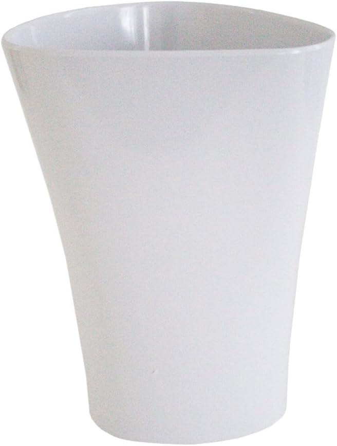 Splash Home River All items free shipping White Wastebasket Cheap sale