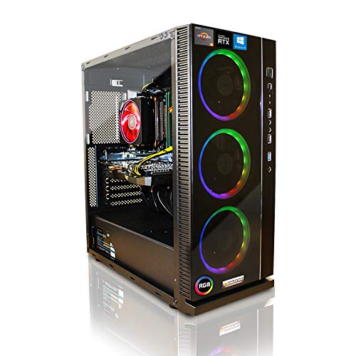 Ordenador de Gaming, Intel, i7 7700K, 4 x 4,2 GHz, Windows 10, fabricado en Alemania negro i7 7700K mit nVidia GTX1080Ti 11GB mit 16GB RAM und 2TB HDD + 256GB M.2 SSD