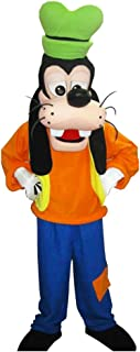 Goofy Mascot Party Costume Adult Size Cartoon Outfit Halloween Cosplay Suit