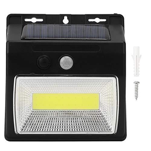 Les-Theresa Lámpara de Seguridad de inducción automática LED con Sensor de Movimiento Solar escaleras y Paredes de Patio