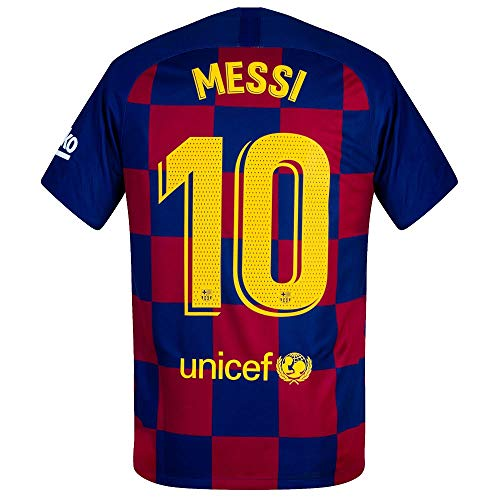 Nike Barcelona Home Stadium Messi 10 Jersey 2019-2020 (Match Pro Printing) - M