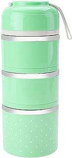 Bento Box 2 colori Blu scuro 1200 ml Contenitore per alimenti in silicone pieghevole rettangolare per microonde