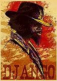 lubenwei Póster Retro De La Película De Quentin Tarantino Pulp Fiction Pond Dog Inglourious Basterds Poster Home Wall Room Decor 40x60Cm Sin Marco At-3666
