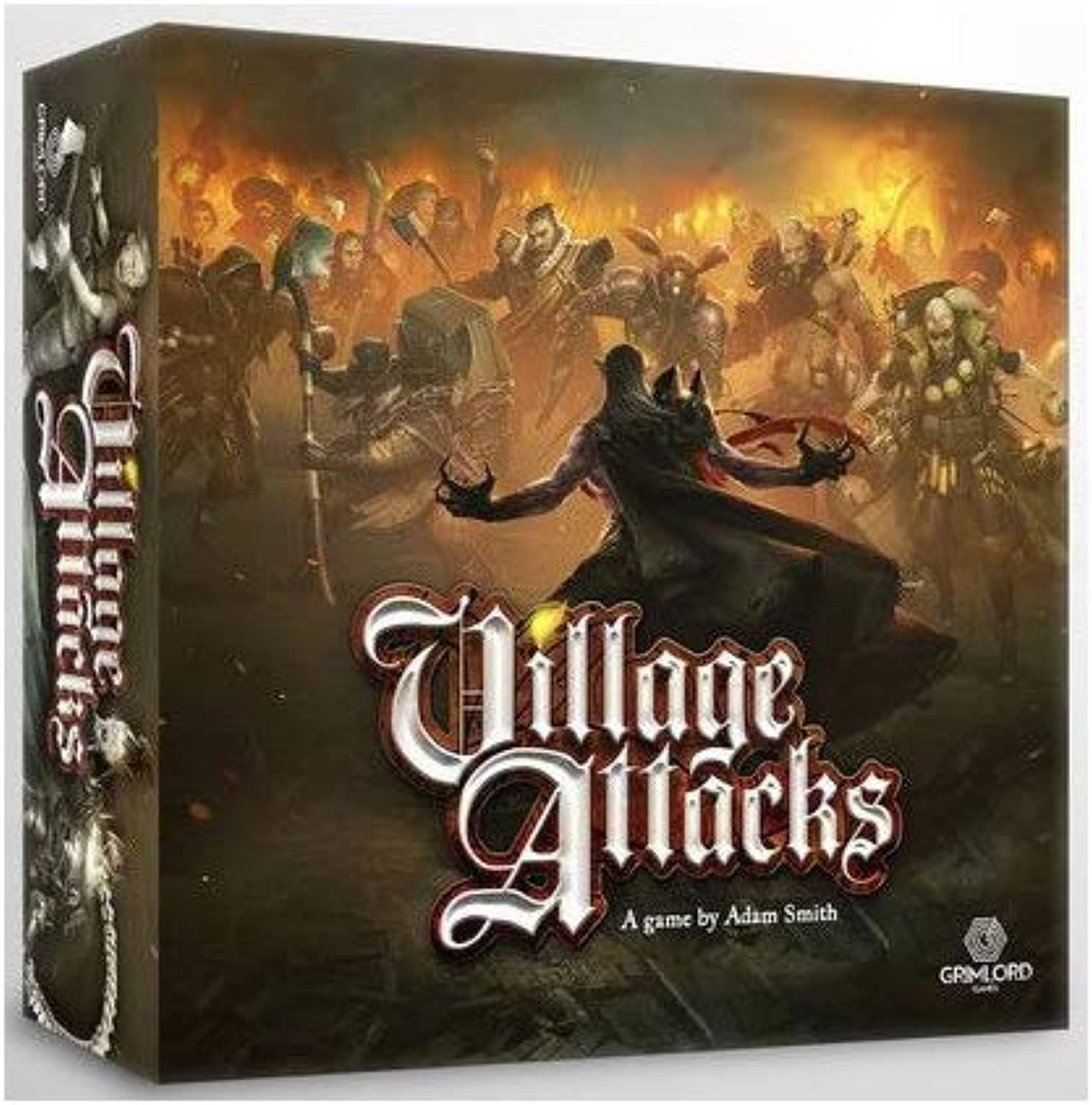 Last level Village Attackcs Basico Kastilisch Mehrfarbig (BGVA-CORE
