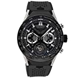 Tag Heuer Connected Quartz (Battery) Black Dial Mens Watch SBF8A8001.11EB0099 (Certified Pre-Owned)