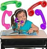 4E's Novelty Whisper Phones for Reading [4...