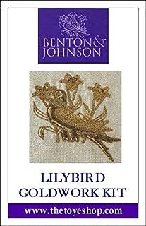 Lilly Bird - Goldwork Kit by Benton & Johnson