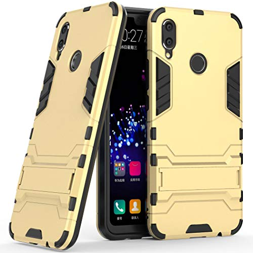 SCIMIN Capa híbrida para Huawei Nova 3i, capa à prova de choque para Huawei Nova 3i, capa rígida de proteção de camada dupla com suporte para Huawei Nova 3i