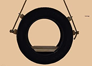 product image for Tire Swing, Tree Swing, Made from Recycled Tire, 10 feet of Rope,Free Hanging kit 7 1/4 inches x 13 inches