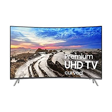 Samsung Curved 55 inches 4K Smart LED TV UN55MU8500FXZA (2017)