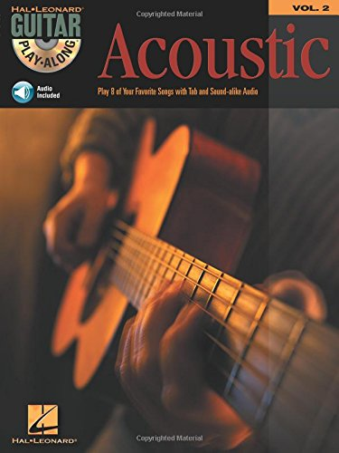 Guitar Play-Along Volume 2: Acoustic (Book/Online Audio): Pt. 2 (Play-Along Acoustic Guitar Tab)