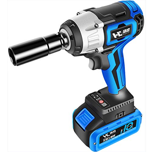 Llave Impacto Bateria,Llave de Impacto,Atornillador de Impacto (Batería de litio, 1280Nm / Brushless /2 Velocidades) con Accesorios Incluir Bolsa Herramientas