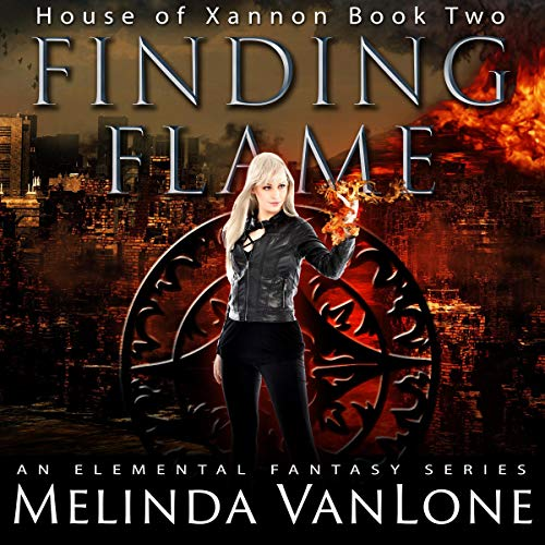 Finding Flame audiobook cover art