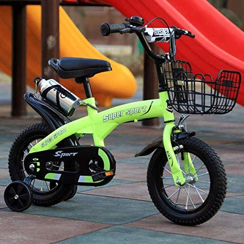 ZTBXQ Sportgeschenk Freestyle Kinderfahrräder Junge Kinderwagen Kinderfahrrad 12 Zoll kleines Mädchen