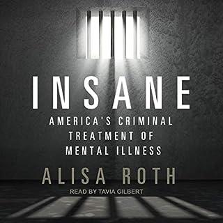 Insane audiobook cover art