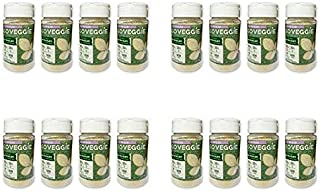 Go Veggie Dairy-Free Grated Topping, Parmesan, 4 oz (Pack of 4)
