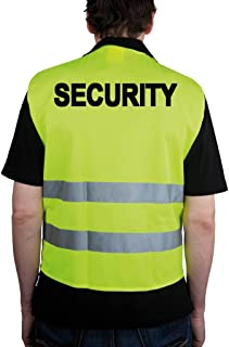 Amazon.es: Allflash Security - Chaleco reflectante, color amarillo