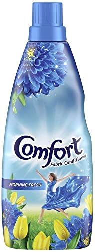 Comfort After Wash Morning Fresh Fabric Conditioner (Fabric Softener) - For Softness, Shine And Long Lasting Freshnes...