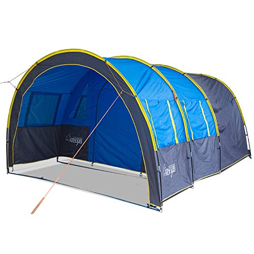 NLZQ Outdoor Team Outing Camping Tunnel Tent Multi-person Camping Equipment Big Tent