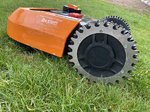 ALU Spikes Traktionsverbesserung für Worx Landroid S / M Mähroboter 205mm