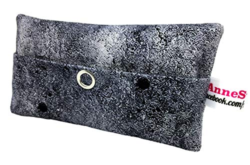 Taschentücher Tasche Beton schwarz Design Adventskalender Befüllung Wichtelgeschenk Mitbringsel Give Away Mitarbeiter Weihnachten Abschied Geschenk Concrete