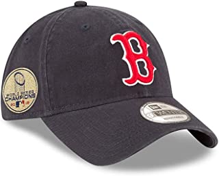 521a2eb585a6a New Era Boston Red Sox 2018 World Series Champions Side Patch 9Twenty  Adjustable Hat