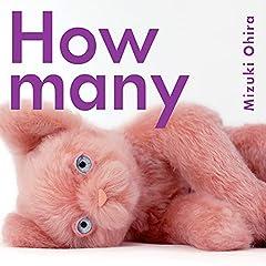 大比良瑞希「How many」のCDジャケット