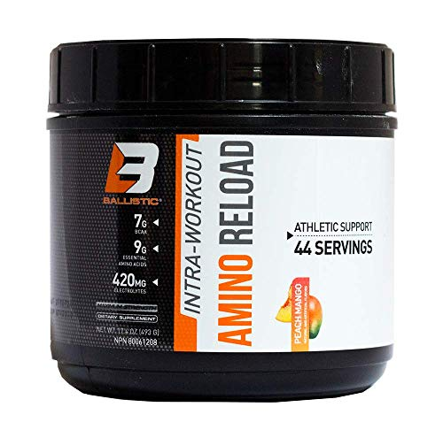 Ballistic Labs Ballistic Labs Amino Reload 44 Melocotón Mango 430g 493 g