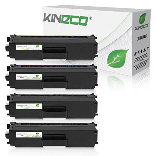 4X XL Toner von Kineco ersetzt TN421 TN423 Multipack für Brother MFC-L8690CDW MFC-L8900CDW