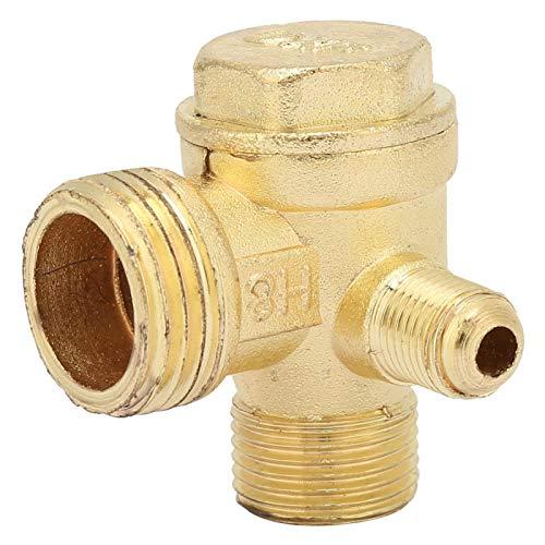 Válvula de compresor de aire de 3 vías, válvula de retención unidireccional...