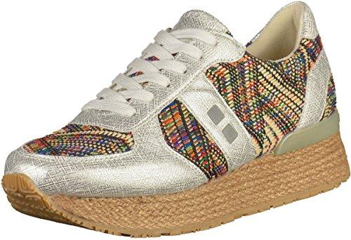 Mundart 117-FOR Damen Sneakers Silber, EU 38