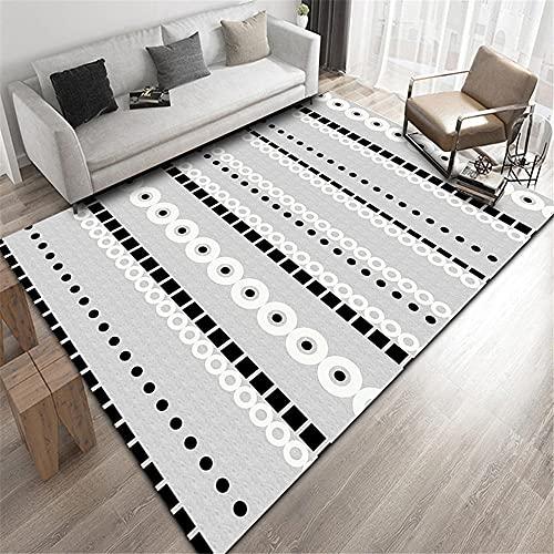 svart vit rutigt golv bauhaus