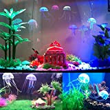 Groundlevel Colour Changing Realistic Jelly Fish Light Up Fish Tank Table Light Led Mood Lamp