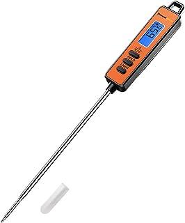 ThermoPro TP01S Thermometre Cuisson à Lecture Instantané avec Longue Sonde Thermomètre pour Viande Numérique pour Boissons...