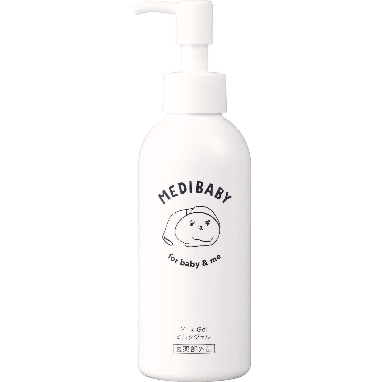 【0歳から使える】 メディベビー 薬用保湿ミルクジェル 150mL