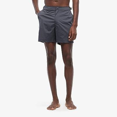 Orlebar Brown Bulldog Sport Swim Shorts (Ebony) Men