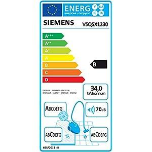 Siemens Q5.0 extreme Silence Power VSQ5X1230 Bodenstaubsauger, Kunststoff, 4.5 liters, schwarz