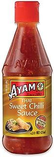 AYAM Thai Sweet Chilli Sauce | Natural Ingredients | Sweet & Spicy | Gluten, Shellfish, Dairy, Egg & Nut Free | for Vegans...