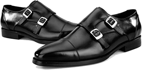 Herrenschuhe Schnallen Cowhide Fall Mode Mode Mode Schuhe Oxfords braun Party & Evening  sehr gefragt sein