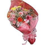 カラフルな花色で人気ナンバーワン!フラワーシャワー(季節の花ガーベラ花束)