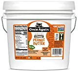 Once Again Natural, Creamy Peanut Butter, 9lb Bucket - Salt Free, Unsweetened - Gluten Free Certified, Vegan, Kosher, Non-GMO Verified