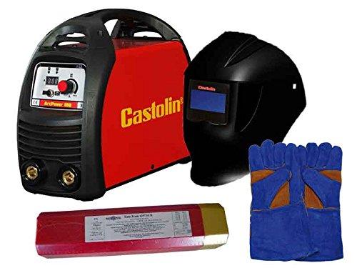 Poste à souder Castolin ArcPower 180 avec masque et accessoires