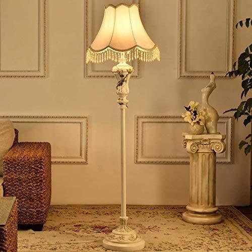 Busirsiz Lámpara de pie LED Europea, Neoclásico moderna iluminación de la sala de estar dormitorio de las lámparas creativas Lámpara de piso, Eye-Cuidado Vertical luz del piso