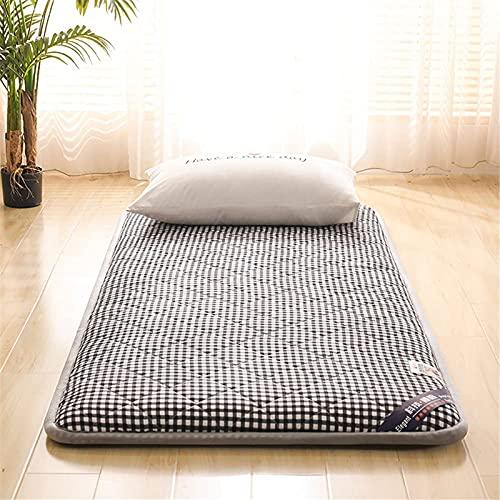 LIMIAO Niños Niñas Adulto Estudiante Colchón, futón Tradicional colchón de Piso (71x79 Pulgadas),E,180x200cm (71 * 79 Inches)
