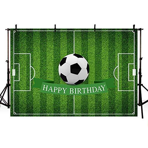 Mehofoto, fondale fotografico a tema calcio, con scritta in inglese