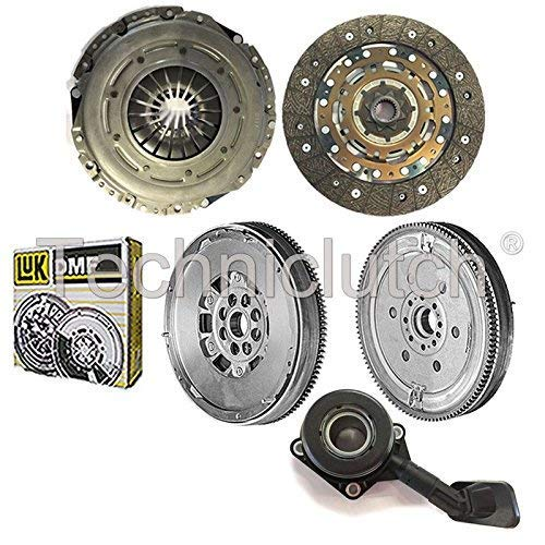 NATIONWIDE CLUTCH DISC DRIVEN PLATE AND PRESSURE PLATE AND LUK DUAL MASS FLYWHEEL AND CSC (4 PART KIT) 8944780117157